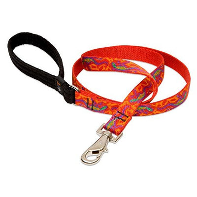 Lupine 3/4 Inch Go Go Gecko Padded Handle Dog Lead [4-Feet]
