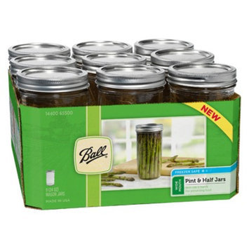 Ball Pint & Half (24 oz.) Mason Jar - Set of 9