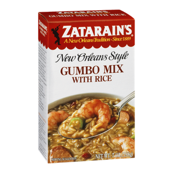 Zatarain's New Orleans Style Gumbo Mix with Rice