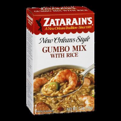 Zatarain's New Orleans Style Gumbo Mix with Rice