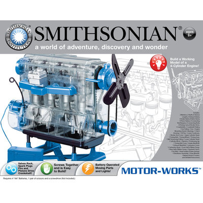 N.s.i. NSI Toys Smithsonian Motor Works Kit