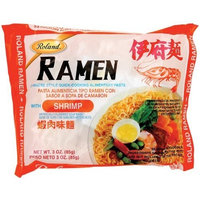 Roland Ramen with Shrimp, 3.05-Ounce Package (Pack of 90)
