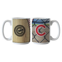 Boelter Brands MLB Cubs Set of 2 Ballpark Coffee Mug - 15oz