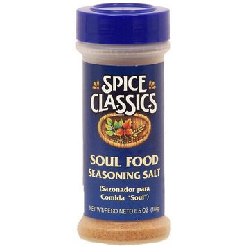 Spice Classics soul food seasoning salt, sazonador para comida 5.12-oz. shaker