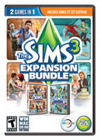 Electronic Arts The Sims 3 Expansion Bundle- World Adventures & Generations (Win/Mac)