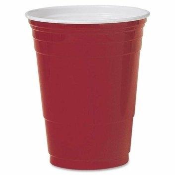 Solo Cup SOLO P16RLRPK 16-Oz. Plastic Party Cups