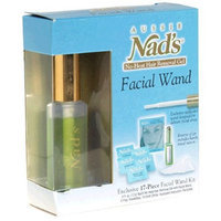 Nads Aussie Nad's No-Heat Hair Removal Gel, Facial Wand Kit, 1 kit