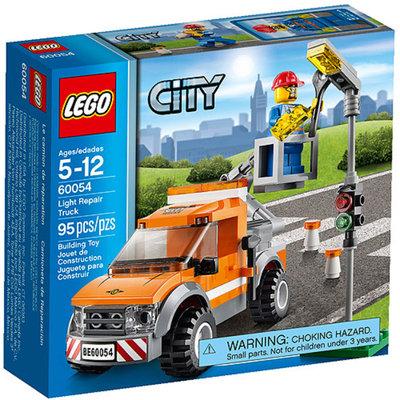 LEGO City Great Vehicles Light Repair Truck Building Set