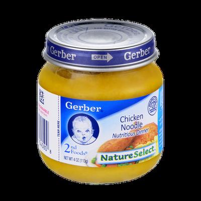 Gerber® Nature Select 2nd Foods Chicken Noodle