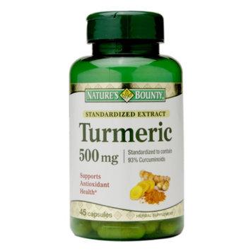 Nature's Bounty Turmeric 500mg, Capsules