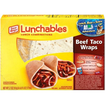 Lunchables Beef Taco Wraps