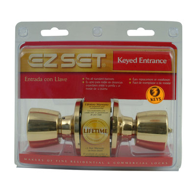 Ezset EZSet Tulip Entry Lock Set 100T GN US3