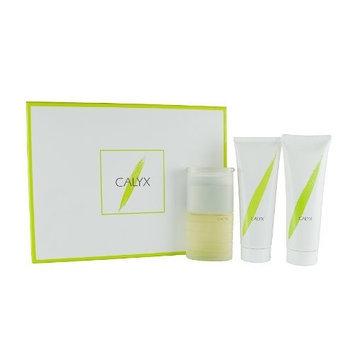 Calyx 3 Piece Set By Prescriptives for Women. 1.7 Oz Spray, 3.4 Oz Body Lotion, 3.4 Oz Shower Gel