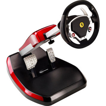 Thrustmaster Scuderia Ferrari Wireless GT 430 Cockpit Set Steering