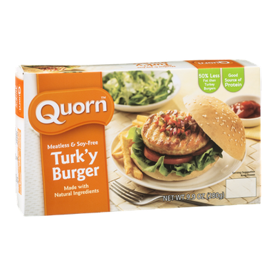 Quorn Turk'y Burger Meatless & Soy-Free
