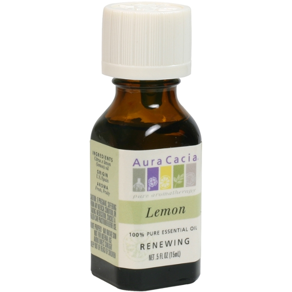 Aura Cacia Lemon Essential Oil