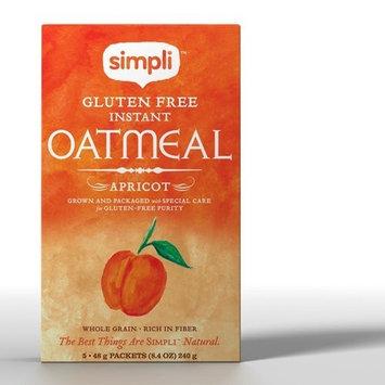 Simpli Gluten Free Instant Apricot Oatmeal