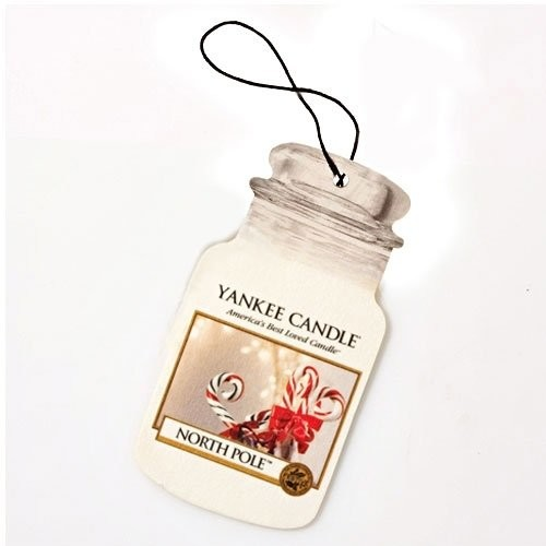 Yankee Candle Classic Car Jar North Pole Air Freshener