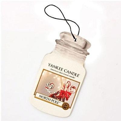 Yankee Candle Classic Car Jar North Pole Air Freshener