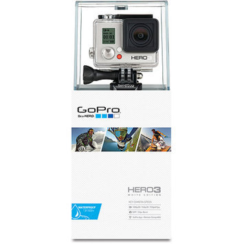 GoPro HERO3: White Edition Action Camcorder