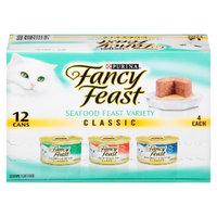 Purina Fancy Feast Fancy Feast Seafood Feast Variety Classic Wet Cat Food - 3 oz (12 pk)