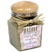 Masada Mineral Herb Spa Natural Body Scrub & Glow, Rosemary & Lemon Peel, 24 oz (680 g) (Pack of 2)