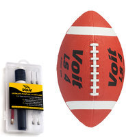 Lion Sports Inc. Junior Rubber Football with Ultimate Inflating Kit