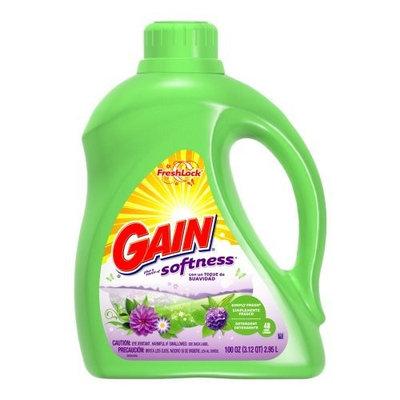 Gain With Freshlock Simply Fresh Liquid Detergent 48 Loads, 100 Ounce