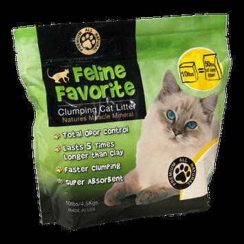 Feline Favorite Clumping Cat Litter