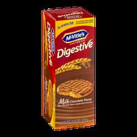 McVitie's Digestive Wheat Biscuits Milk Chocolate