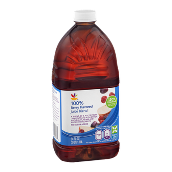 Ahold 100% Berry Flavored Juice Blend No Sugar Added