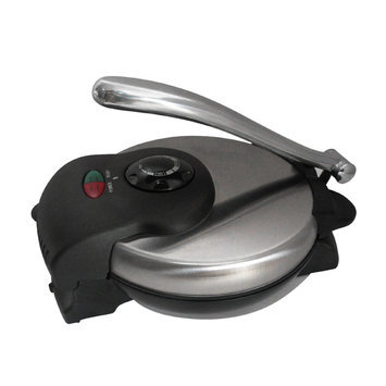 Brentwood Appliances TS126 Tortilla Maker Non-stick In Stainless Steel