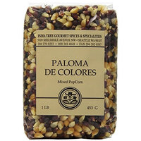 India Tree Paloma de Colores(Mixed) PopCorn, 16 oz (Pack of 4)
