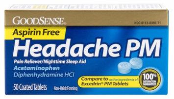 Good Sense Extra Strength Pain Relief Caplets Apap 500 Mg