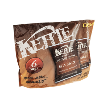 Kettle Potato Chips Sea Salt - 6 CT