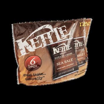 Kettle Potato Chips Sea Salt - 6 CT