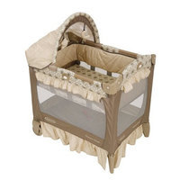 Graco Travel Lite Crib with Bassinet, Marlowe (Discontinued by Manufacturer)
