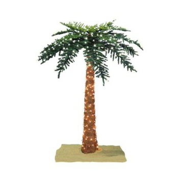 Sterling Inc Lighted Royal Palm Tree - 7' (600 Clear Lights)