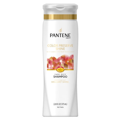 Pantene Pro-V Color Hair Solutions Color Preserve Shine Shampoo with Pump