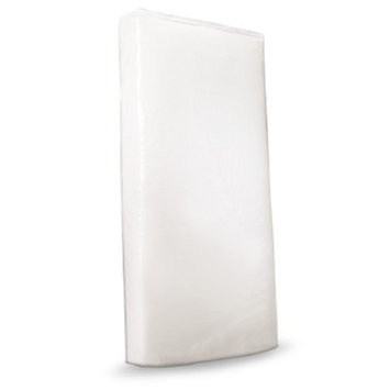 Clear Zippered Crib Mattress Storage Bag by Colgate
