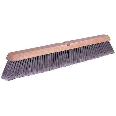 TOUGH GUY 4KNA5 Push Broom, Polystyrene, Smooth Surface