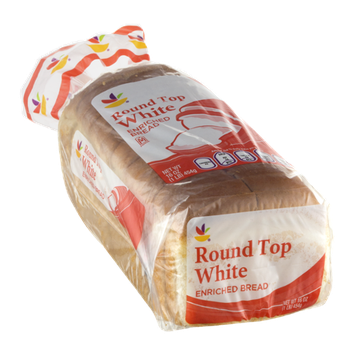 Ahold Round Top White Bread