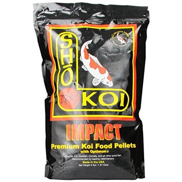 Total Koi Inc ATK00164 Sho Koi ImpaCount Small/Medium Floating Pellet, 4-Pound