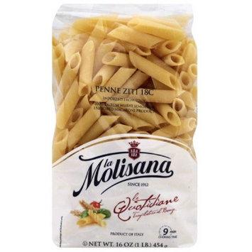La Molisana Penne Ziti Pasta, 16 oz, (Pack of 12)