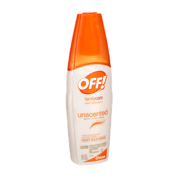 OFF! Family Care Unscented with Aloe Vera Insect Repellent