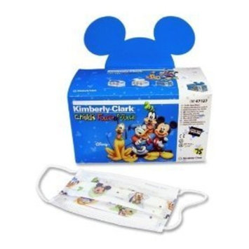Kimberly-Clark Childs Face Mask,w Stretchable Earloops,75/Box,Latex Free