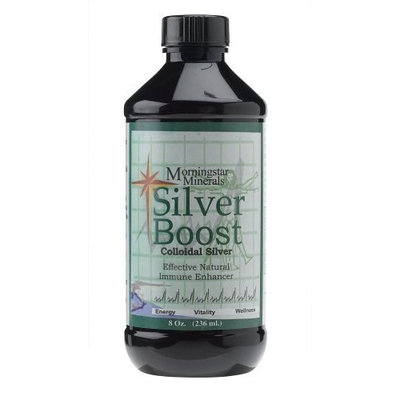 Morningstar Minerals Silver Boost Colloidal Silver (8 Ounces)