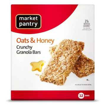 Market Pantry 6-pk. Oats And Honey Crunchy Granola Bars 1.5-oz.