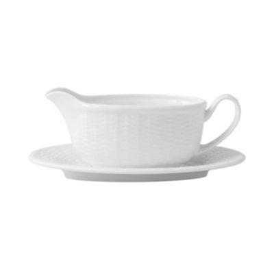 Wedgwood Dinnerware, Nantucket Basket Gravy Stand