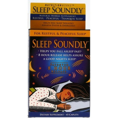 Sleep Soundly, For Restful & Peaceful Sleep, 45-Count (Pack of 2)